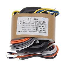 1 Pc 30VA 30W R-Core Power Transformer For Amplifier 18V+18V High Quality