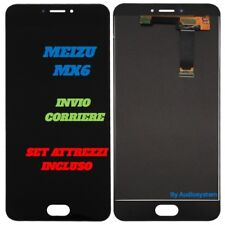 LCD DISPLAY +TOUCH SCREEN+TOOLS FOR MEIZU MX6 BLACK GLASS SPARE PARTS NEW