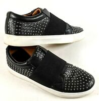 Womens REPORT Acer Slip On Casual Shoes 8 Black Studded