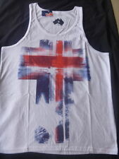 Unbranded Graphic Tee Cotton Sleeveless T-Shirts for Men
