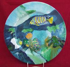 Bauscher Teller Zierteller 31 cm, Fisch/Aquarium, gebr. Topzustand