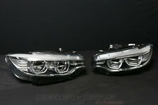 New BMW M4 F82 F83 Complete Headlights LED AHL Head Lights 7377849 7377850 Rhd