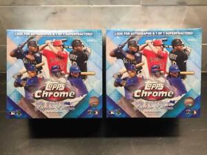 2020 Topps Chrome SAPPHIRE Online Exclusive - RC, 1 Auto - Sealed Box, IN HAND