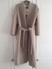 Zara Women's Stone Belted Coat SIZE MEDIUM BRAND NEW