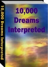 """"""" 10,000 Dreams Interpreted """" - Ebook - PDF + Full Resale Rights - Dream Meaning"""