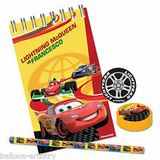 20 Piece Disney CARS Children's Party Favours Gifts Toys Stationery Set Pack