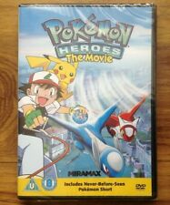 Pokemon Heroes The Movie DVD New & Sealed. Free Postage