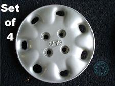 "Hyundai Sonata 14"" Genuine Hubcaps (set of 4)"
