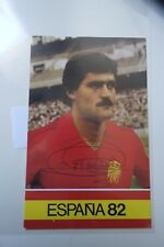 AUTHENTIC AUTOGRAPH  SOCCER  FOOTBALL REAL MADRID GARCIA NAVAJAS SPAIN
