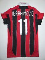 2012 Adidas AC Milan Zlatan Ibrahimovic Jersey Maglia Manchester United Techfit