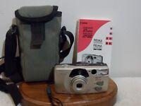 Canon Sure Shot 85 Zoom, 35MM. Camera./ Case & Manual. (E-02)