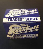 1988 Topps Baseball Traded Factory Set Alomar RC Grace RC Tino Martinez RC