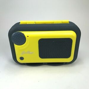Good Times Yellow Water Proof Speaker Case WSC100 for Ipod, Phone, MP3
