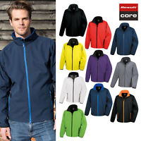 Result Core Printable Softshell Jacket R231M - Men's Long Sleeve Jacket