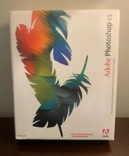 Adobe Photoshop CS (2003) 2 CD - Windows  w/Serial Number Manual Book & Box
