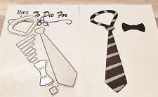 Dies...to die for metal cutting craft die Dad's Tie
