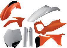 ACERBIS PLASTIC KIT (ORANGE) Fits: KTM 250 SX,250 XC,300 XC,200 XC,144 SX,125 SX