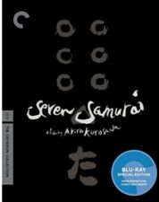 Seven Samurai (used) Blu-ray Only Disc Please Read