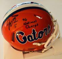 Jacquez Green Autographed Florida Gators 1996 National Champions Mini Helmet COA