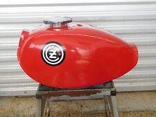 CZ 125 250 360 380 400 FIBERGLASS fuel gas petrol Vintage MX MotoCross Enduro