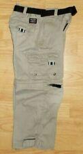 Boy'S Convertible - Tan / Khaki Zip-Off Pant'S To Short'S Size 4 ( S )