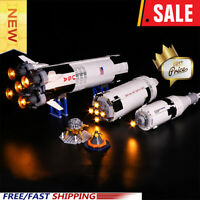 NASA Apollo Saturn V Led Light Kit Set for Lego 21309 Building Blocks Bricks Toy