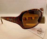 MAUI JIM PEARL CITY MJ HS214-10 TORTOISE HCL BRONZE POLARIZED SUNGLASSES NEW