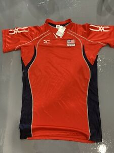 Mizuno Men's USA Volleyball National Olympic Team Game Jersey Size Z