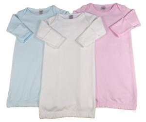 Baby Layette Night Gown Nightie Sleepsuit Cotton 0-3 Months 56 -62 cm
