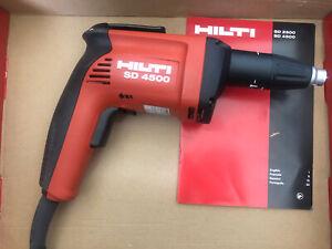 Hilti SD4500 50' Cord Drywall Screwgun