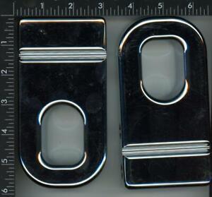 FOUR WHEEL H20010SC 2003-2010 H2 SUV & SUT Hummer POLISH Billet Front Tow Hooks