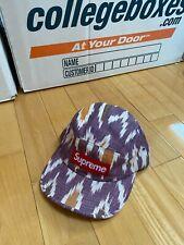 Supreme Ikat 5 panel Camp Cap Hat Bogo box logo