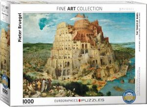 The Tower of Babel by Bruegel 1000 piece jigsaw puzzle 680mm x 480mm (pz)