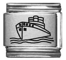 Clearly Charming Cruise Ship Laser Italian Charm