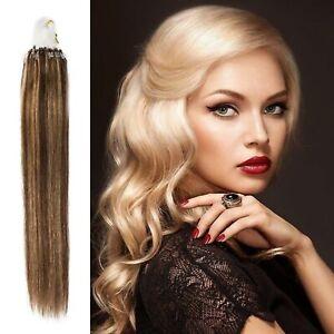 1g Premium Remy Micro Loop exuberant Advanced Pretty Human Hair Extensions
