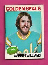 1975-76 OPC # 217 SEALS WARREN WILLIAMS  ROOKIE VG CARD (INV# C3231)