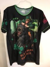 Black Bear Rampage Louis Garneau Irish Leprechaun Shirt Jersey NWT Small
