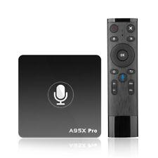 Smart TV box A95X PRO 4K Media Player Quad core Amlogic S905W 2G+16G with A