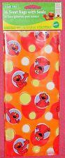 Elmo,Sesame Street,Party/Treat Bags,Wilton,4x9,16 ct.,Red,1912-3461,Plastic