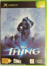 Jeu THE THING microsoft XBOX game francais action capitaine blake vintage spil 1