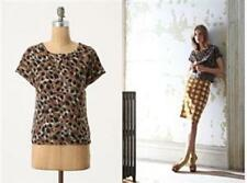 $128 NWT Anthropologie Pumapard Wool Blouse Top sz 0 by Portrait of a Girl