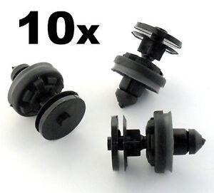 10x Ford Focus & C-Max Panneau Intérieur Portière & de Garniture Clip Maintien /