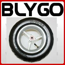 90/65 - 6.50 Front Wheel + Road Tyre Tire 49cc Mini Pocket Rocket PIT Dirt Bike