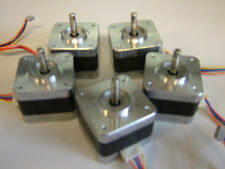 Lot of 5 NEMA 17 Stepper Motors Mill Robot RepRap Makerbot Prusa 3D Printer P2V