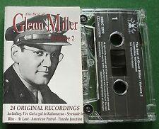 Glenn Miller Best Of Vol 2 inc Serenade in Blue + Cassette Tape - TESTED