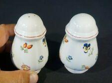 Beautiful Villeroy Boch Petite Fleur Salt And Pepper Shakers