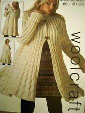 Giacca Swing Cavo Attorcigliato ~ Lavoro a Maglia Motivo BUST 86-107 cm 30 A