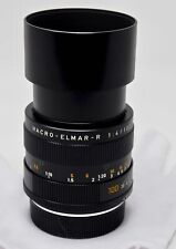 Leica Macro-Elmar-R 100mm f/4 MF Lens Serial #3031832- Made in Germany