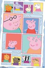 PEPPA PIG - CHARACTERS POSTER - 22x34 - 14275