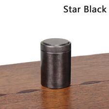 Solid Small Mini Metal Tin Canisters Tea Sugar Tea Container Storage Box Jar